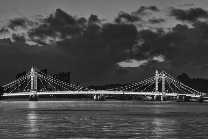 Photograph of Albert Bridge 25
