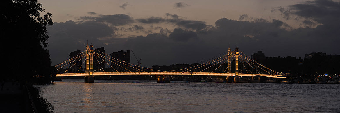 Photograph of Albert Bridge 35