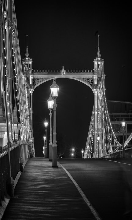 Photograph of Albert Bridge 38