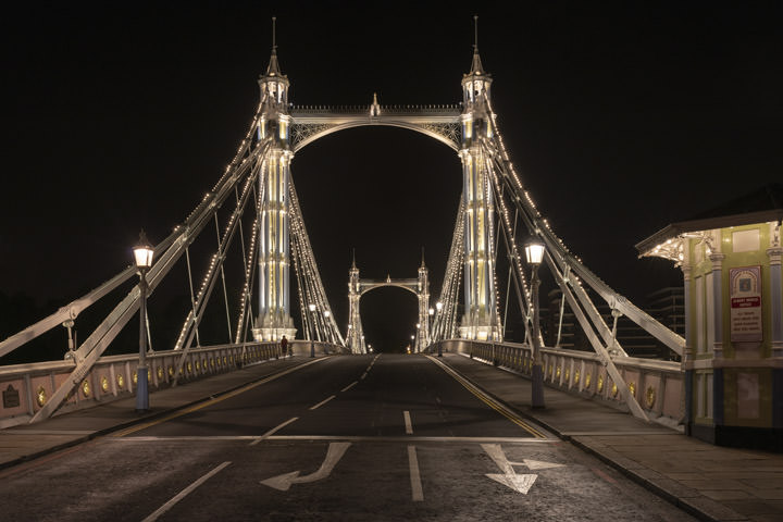 Photograph of Albert Bridge 39