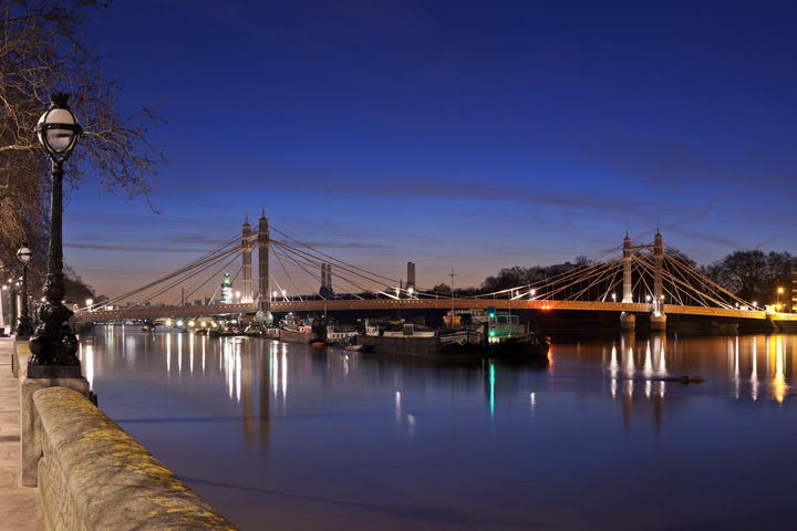 Photograph of Albert Bridge 5