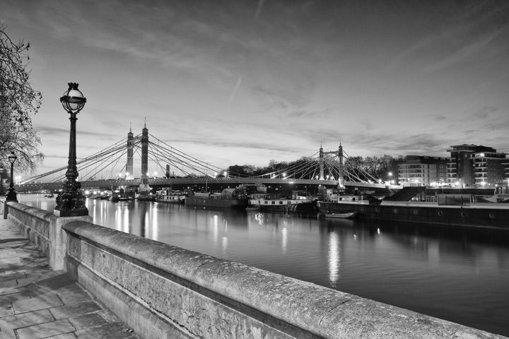 Photograph of Albert Bridge 8