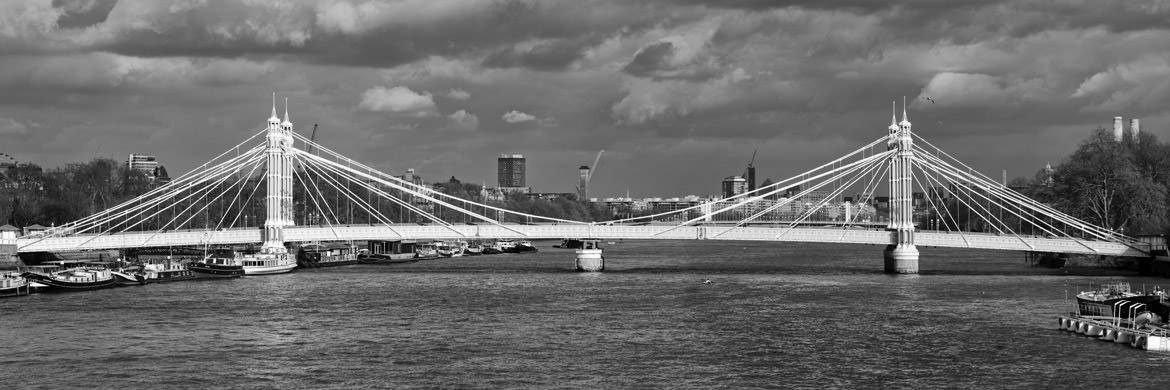 Photograph of Albert Bridge Panorama 1