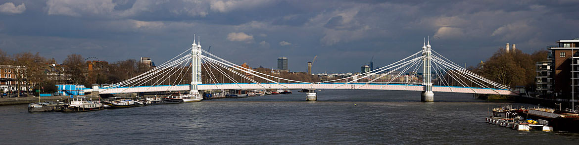 Photograph of Albert Bridge Panorama 2