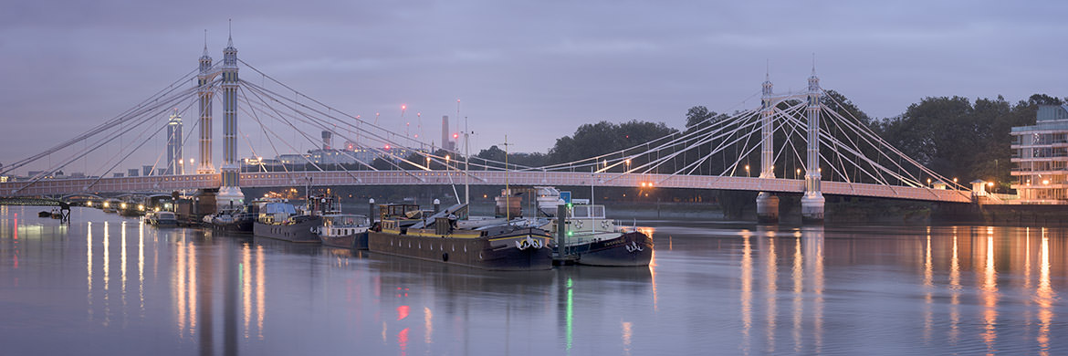 Photograph of Albert Bridge Panorama 4