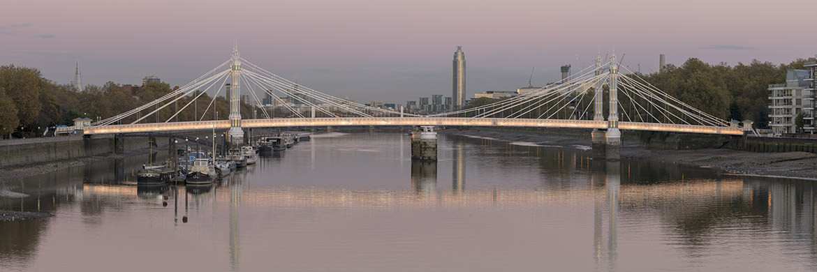 Photograph of Albert Bridge Panorama 5