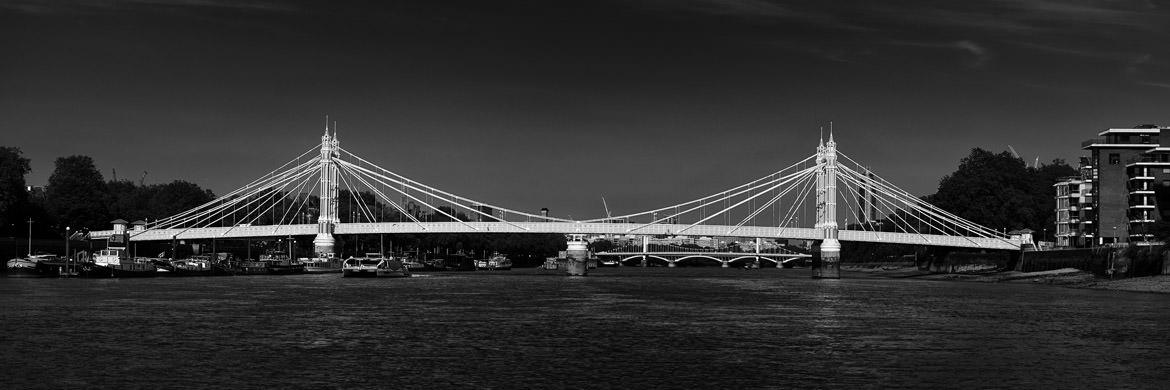 Photograph of Albert Bridge Panorama 7