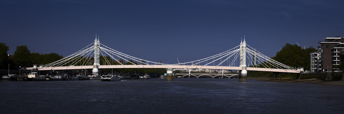 Photograph of Albert Bridge Panorama 8
