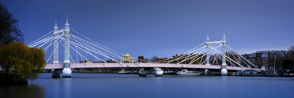 Photograph of Albert Bridge Panorama 9