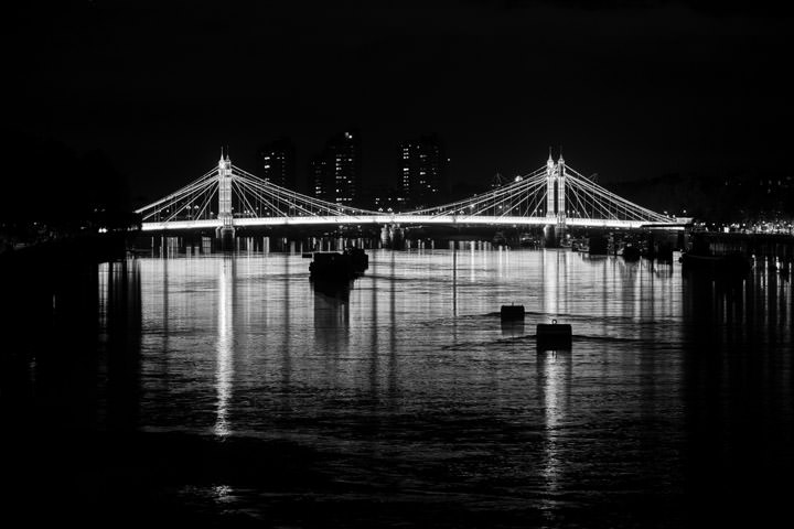 Albert Bridge Reflections 3