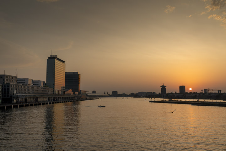 Photograph of Amsterdam Sunset 1