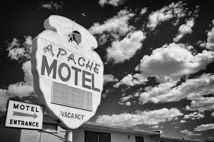 Apache Motel -  Route 66 Tucumcari - New Mexico