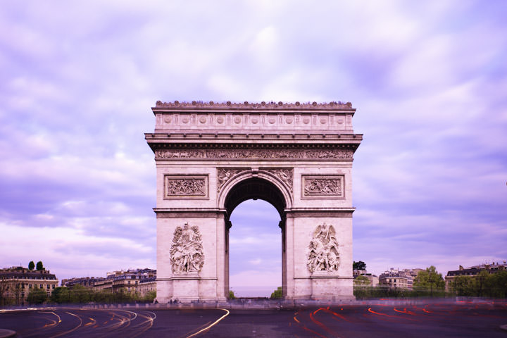 Arc de Triomphe Paris - France