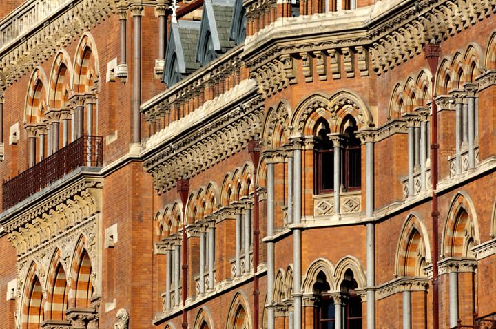 Detail St Pancras Station | London Architectural Photos