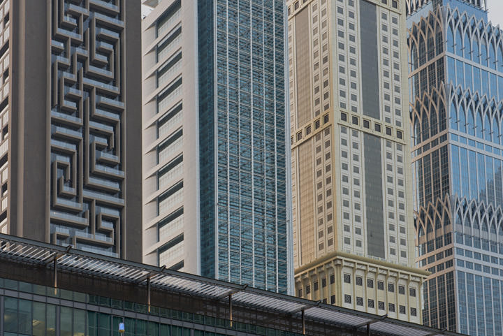Photograph of Architectural Patterns Dubai 1