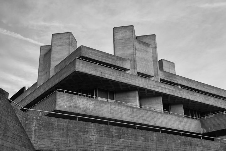 Brutalist Architecture of the London South Bank