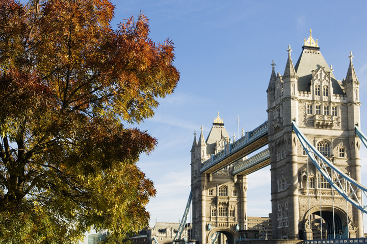 Photograph of Autumn at Tower Bridge
