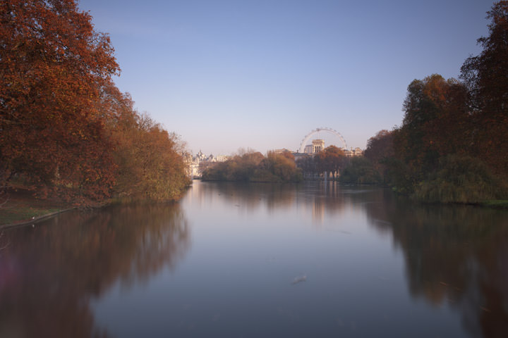 Photograph of Autumn in St James Park