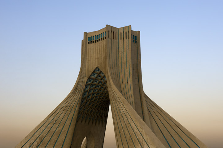 Photograph of Azadi Tower 1