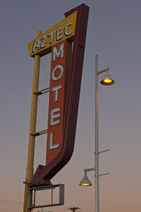 Photograph of Aztec Motel