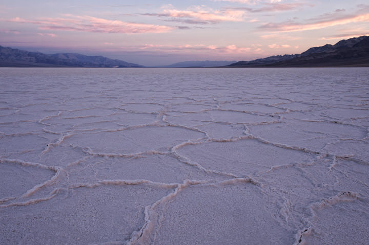 Photograph of Badwater Sunrise