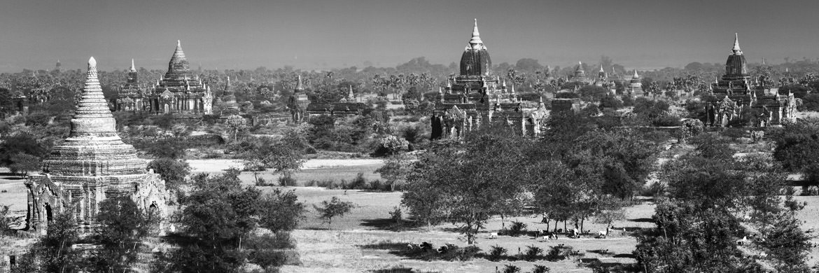 Photograph of Bagan Panorama 1