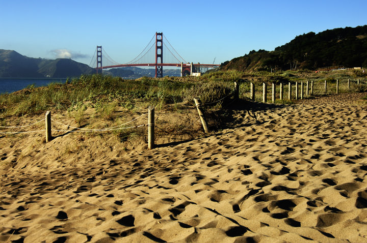 Photograph of Baker Beach