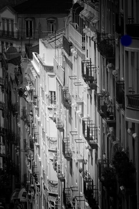 Photograph of Balconies Lisbon