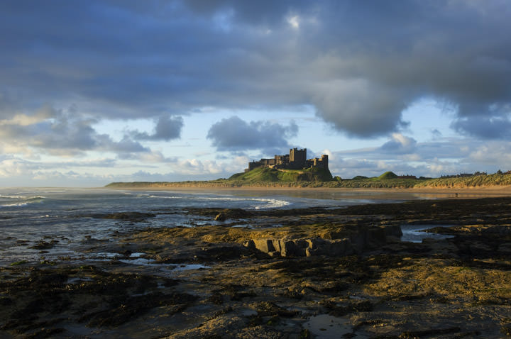 Photograph of Bamburgh Castle