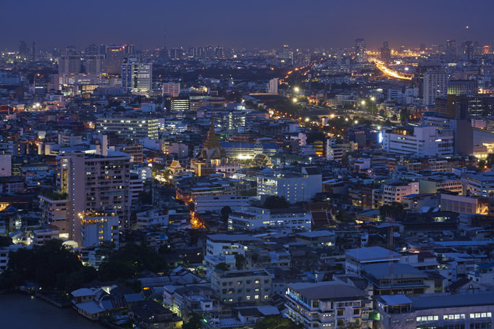 Photograph of Bangkok Cityscape 1