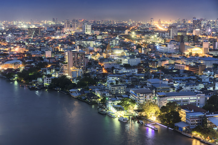 Bangkok Night View 1
