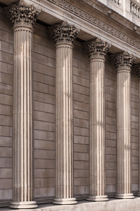 Photograph of Bank of England Detail 3