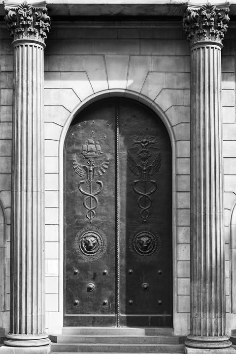 Photograph of Bank of England - Detail