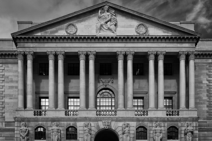 Photograph of Bank of England Facade