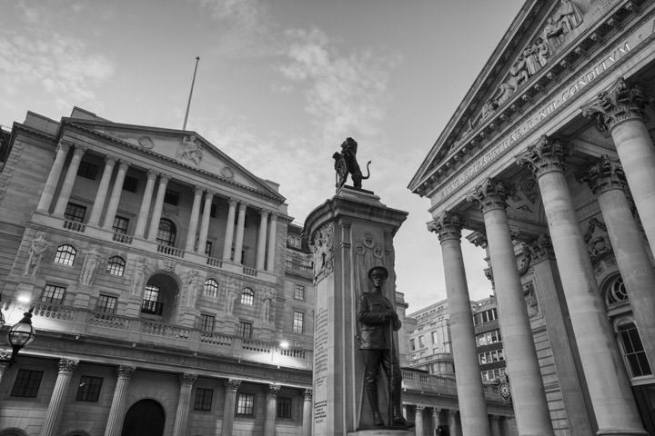 Photograph of Bank of England Royal Exchange 2