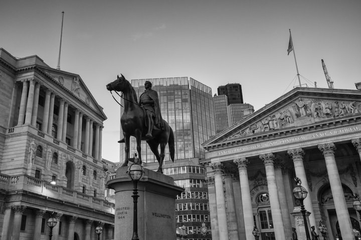 Photograph of Bank of England Royal Exchange 4