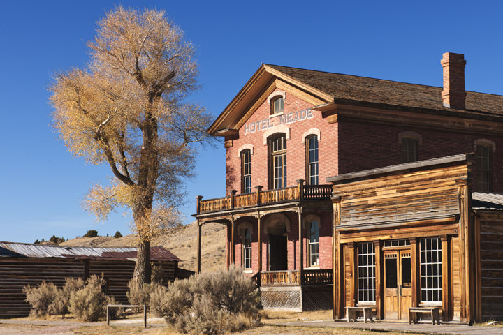 Photograph of Bannack Ghost Town