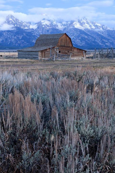 Barn - Mormon Row Wyoming