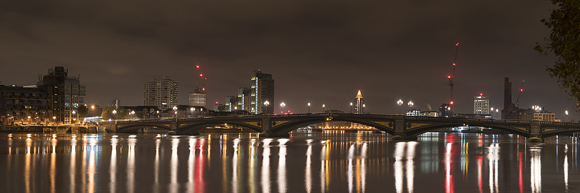 Photograph of Battersea Bridge Panorama 1