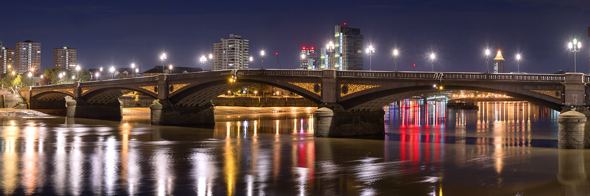 Battersea Bridge Panorama 2