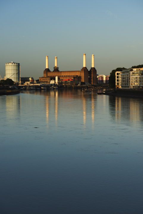 Battersea Power Station viewed from Vauxhall Bridge