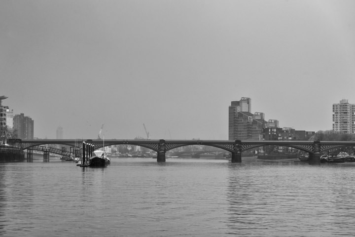 Photograph of Battersea Railway Bridge 2