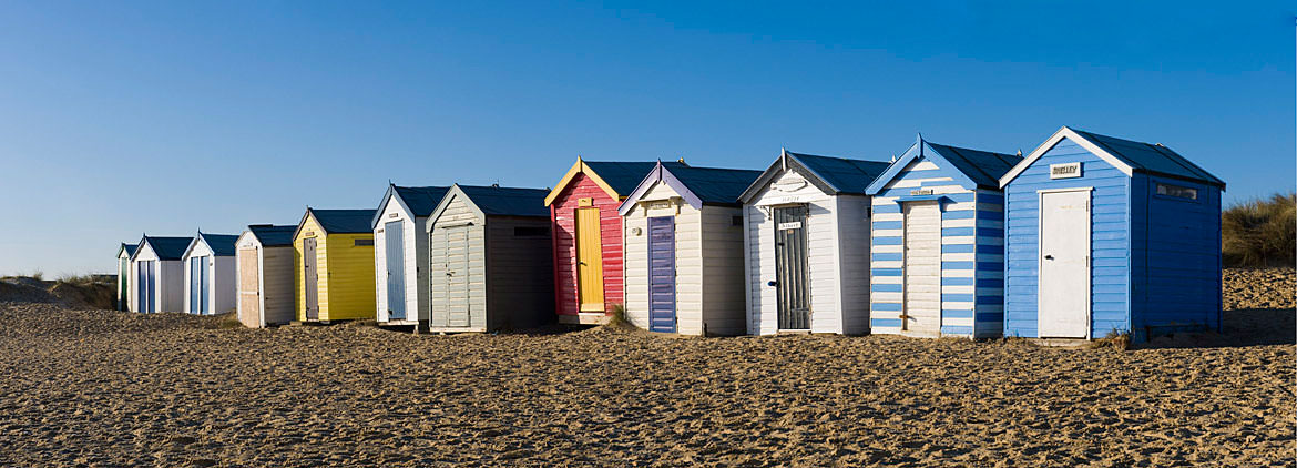 Photograph Of Beach Huts Southwold England Photography