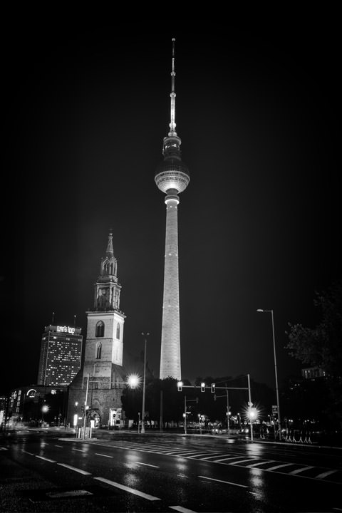 Photograph of Berlin TV Tower 1