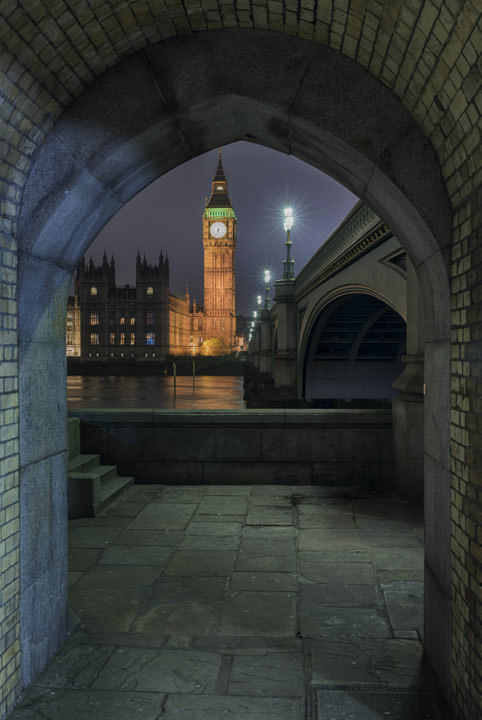 Photograph of Big Ben and Westminster Bridge 2