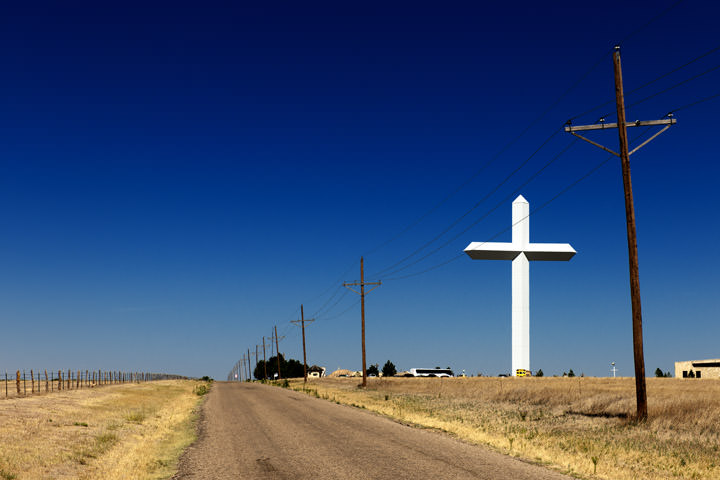 Photograph of Big Cross - Route 66