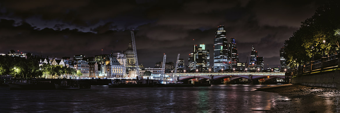 Blackfriars Bridge Panorama 1