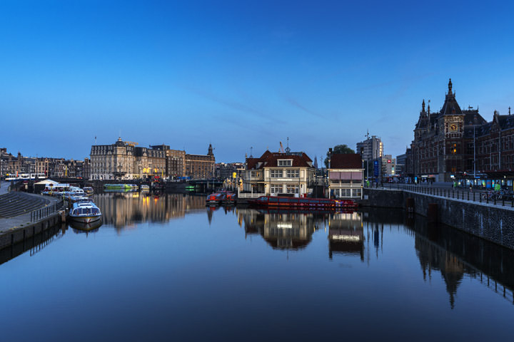 Photograph of Blue Amsterdam
