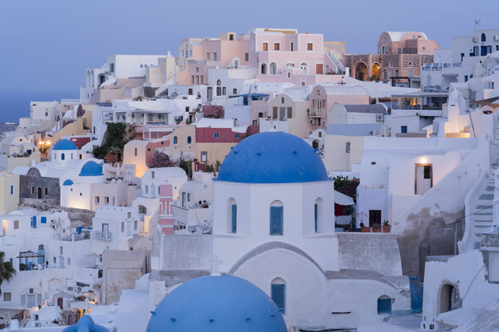 Photograph of Blue Santorini