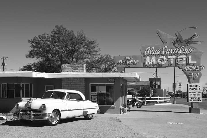 Blue Swallow Motel -  Route 66 Tucumcari - New Mexico